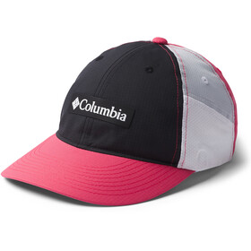 Columbia Ripstop Ball Cap black/rouge pink/cirrus grey/white